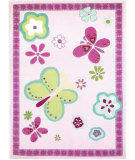 RugStudio presents Designers Guild Children Elgin Flower Hand-Tufted, Best Quality Area Rug
