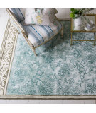 RugStudio presents Designers Guild Royal Flora Duck Egg Area Rug