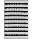 RugStudio presents Designers Guild Premier Franchini Noir Flat-Woven Area Rug
