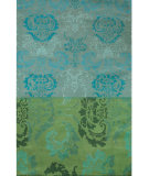 RugStudio presents Designers Guild Premier Kashgar Jade Hand-Tufted, Good Quality Area Rug