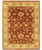 RugStudio presents Due Process Amritsar Mahal Wood Rose-Gold Hand-Knotted, Best Quality Area Rug