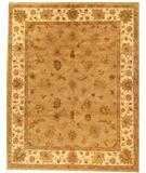 RugStudio presents Due Process Amritsar Oushak Beige-Ivory Hand-Knotted, Best Quality Area Rug