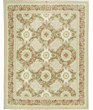 RugStudio presents Due Process Aubusson Gueret Pink/Cream Hand-Knotted, Best Quality Area Rug