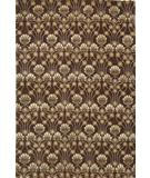 RugStudio presents Due Process Empress Arts & Crafts Brown Hand-Knotted, Best Quality Area Rug