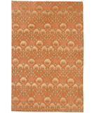 RugStudio presents Due Process Empress Arts & Crafts Terra-cotta Hand-Knotted, Best Quality Area Rug