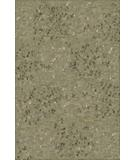 RugStudio presents Due Process Empress Leaves Green Hand-Knotted, Best Quality Area Rug