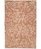 RugStudio presents Due Process Empress Leaves Rose Hand-Knotted, Best Quality Area Rug