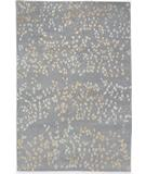RugStudio presents Due Process Empress Leaves Steel Hand-Knotted, Best Quality Area Rug