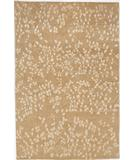 RugStudio presents Due Process Empress Leaves Straw Hand-Knotted, Best Quality Area Rug