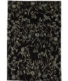 RugStudio presents Due Process Empress Spring Black-Grey Hand-Knotted, Best Quality Area Rug