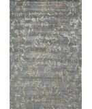 RugStudio presents Due Process Empress Spring Pewter-Sliver Hand-Knotted, Best Quality Area Rug