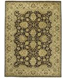 RugStudio presents Due Process Jagapatti Agra Brown-Gold Hand-Knotted, Best Quality Area Rug