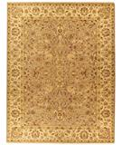 RugStudio presents Due Process Jagapatti Agra Taupe-Ivory Hand-Knotted, Best Quality Area Rug