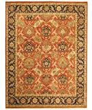 RugStudio presents Due Process Jagapatti Bakshaish Rust-Navy Hand-Knotted, Best Quality Area Rug