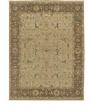 RugStudio presents Due Process Jagapatti Borlu Beige-Chestnut Hand-Knotted, Best Quality Area Rug