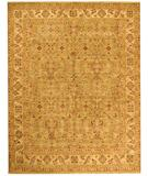 RugStudio presents Due Process Jagapatti Ferrahan Light Green-Cream Hand-Knotted, Best Quality Area Rug