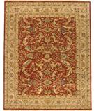 RugStudio presents Due Process Jagapatti Mehraban Brick-Cream Hand-Knotted, Best Quality Area Rug
