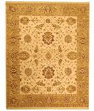 RugStudio presents Due Process Jagapatti Oushak Cream-Fawn Hand-Knotted, Best Quality Area Rug