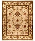 RugStudio presents Due Process Jagapatti Oushak Ivory Hand-Knotted, Best Quality Area Rug