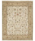 RugStudio presents Due Process Jagapatti Sarouk Ivory-Beige Hand-Knotted, Best Quality Area Rug