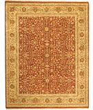 RugStudio presents Due Process Jagapatti Ziegler Rust-Gold Hand-Knotted, Best Quality Area Rug