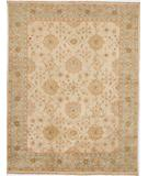 RugStudio presents Rugstudio Sample Sale 28243R Ivory-Seafoam Hand-Knotted, Best Quality Area Rug