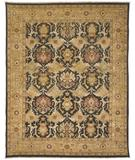 RugStudio presents Rugstudio Sample Sale 28250R Brown-Gold Hand-Knotted, Best Quality Area Rug