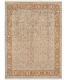 RugStudio presents Due Process Kashmir Nain Gold-Rust Hand-Knotted, Best Quality Area Rug