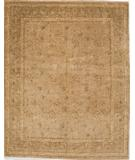 RugStudio presents Due Process Khyber Devon Gold-Brown Hand-Knotted, Best Quality Area Rug