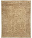 RugStudio presents Due Process Khyber Doroksh Cream-Gold Hand-Knotted, Best Quality Area Rug