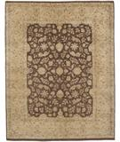 RugStudio presents Due Process Khyber Hereke Brown-Gold Hand-Knotted, Best Quality Area Rug