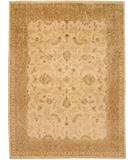 RugStudio presents Due Process Khyber Lilihan Cream-Melon Hand-Knotted, Best Quality Area Rug
