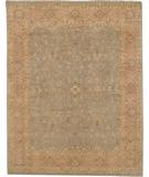 RugStudio presents Due Process Khyber Polonaise Silver-Coral Hand-Knotted, Best Quality Area Rug