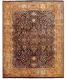 RugStudio presents Due Process Khyber Sarouk Denim-Champagne Hand-Knotted, Best Quality Area Rug