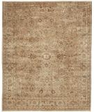 RugStudio presents Due Process Khyber Sultanabad Cream Hand-Knotted, Best Quality Area Rug