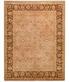 RugStudio presents Due Process Khyber Ziegler Taupe-Chestnut Hand-Knotted, Best Quality Area Rug