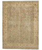 RugStudio presents Due Process Khyber Zili Sultan Steel-Taupe Hand-Knotted, Best Quality Area Rug