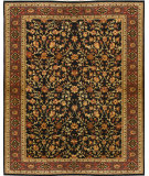 RugStudio presents Due Process Khyber Zaheer Black Hand-Knotted, Best Quality Area Rug