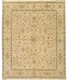 RugStudio presents Due Process Mirzapur Herati Beige Hand-Knotted, Best Quality Area Rug