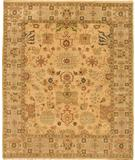 RugStudio presents Due Process Mirzapur Lilihan Gold-Fawn Hand-Knotted, Best Quality Area Rug