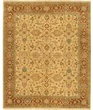 RugStudio presents Due Process Mirzapur Oushak Light Gold-Rust Hand-Knotted, Best Quality Area Rug