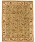RugStudio presents Due Process Mirzapur Oushak Pistachio Hand-Knotted, Best Quality Area Rug