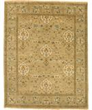 RugStudio presents Due Process Mirzapur Shield Beige-Opal Hand-Knotted, Best Quality Area Rug