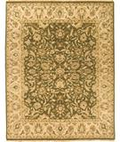 RugStudio presents Due Process Mirzapur Tehran Olive-Beige Hand-Knotted, Best Quality Area Rug