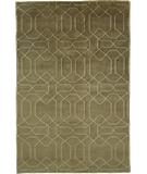 RugStudio presents Due Process Nouveau Honey Comb Chocolate Hand-Knotted, Best Quality Area Rug