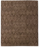 RugStudio presents Due Process Novell Fauna Brown Hand-Knotted, Better Quality Area Rug