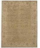 RugStudio presents Due Process Peshawar Borlu Sand-Cream Hand-Knotted, Best Quality Area Rug