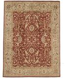RugStudio presents Due Process Peshawar Farahan Red-Cream Hand-Knotted, Best Quality Area Rug