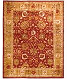 RugStudio presents Due Process Peshawar Oushak Rust-Sage Hand-Knotted, Best Quality Area Rug