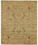 RugStudio presents Due Process Peshawar Sultanabad Pistachio-Gold Hand-Knotted, Best Quality Area Rug